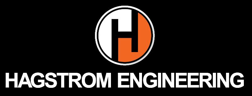 hagstrom engineering logo white text