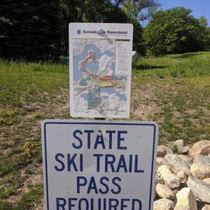 kensington trail sign